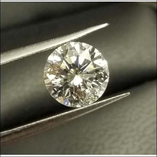 2.10Ct F Vs1 Triple Excellent Gia Certified Diamond