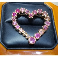 Sold $3,388 Celebration of Pink by Daniel Arthur Jelladian Gia Pink Diamonds 12 Payments $282