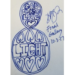 LIGHT Within Created by LOVE Reflected- Some have The LIGHT inside- $400,000 Opening Bid