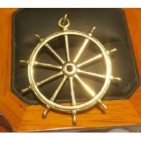 Estate Sailor's Ships Wheel Pendant 14k Gold- Revenant is one of the Best Movies I have ever seen