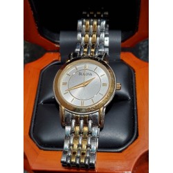 Estate Ladies' Bulova Watch Stainless $1Nr