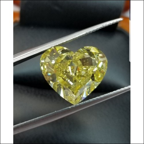 Sold for $600,000 + trade Gia 10ct+ Natural Fancy Vivid Yellow Vs2 Diamond