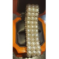 Mothers Day Flexible Freshwater Pearl Bracelet $1Nr