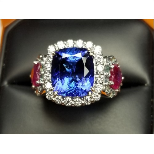 New Mother's Ring with all the Family's Birthstones by D.A.J.