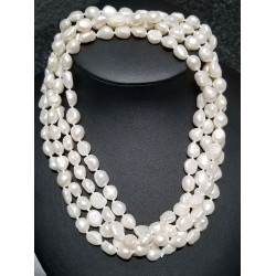 "60"" Freshwater Pearl Necklace $1Nr"