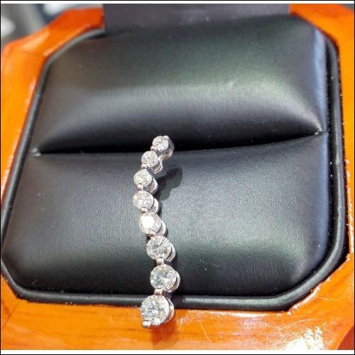$300-$400 Estate 1/2Ct Diamond Pendant 14k White Gold $1Nr