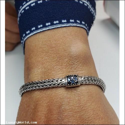 $200-$400 Estate John Hardy Sapphire Bracelet Sterling $1Nr